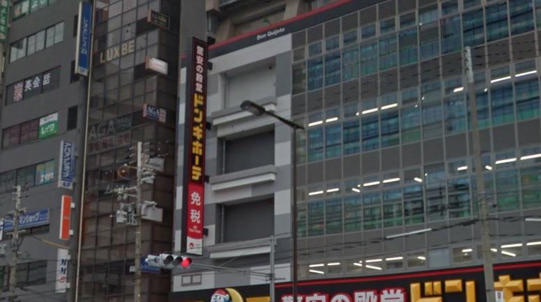 銀座カラー天王寺店へのアクセス・行き方2